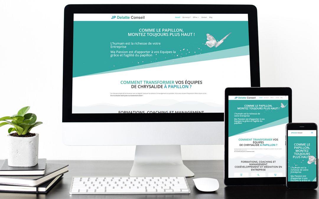 Nouveau : le site JP Delatte Conseil fait peau neuve !